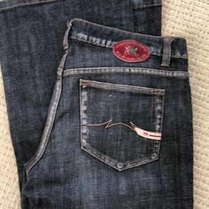 Black Parasuko Denim Cult  jeans size 29